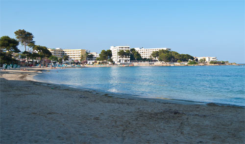 Playa Es Canar