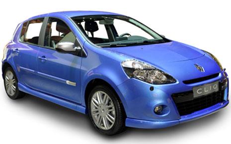 Alquiler de coches Renault Clio en Ibiza