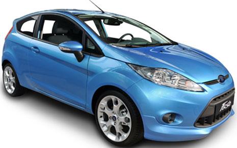 Alquiler de coches  Ford Fiesta en Ibiza