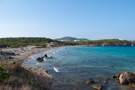 Calas de Ibiza. Cala Nova