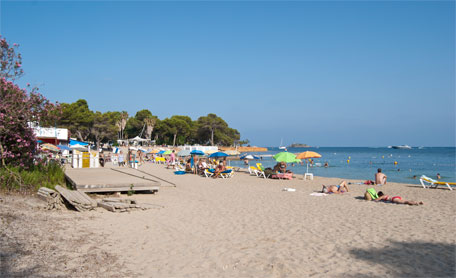Calas de Ibiza. Cala Pada
