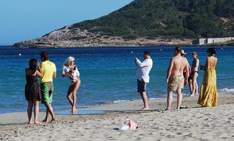 Playa d´en Bossa en Ibiza